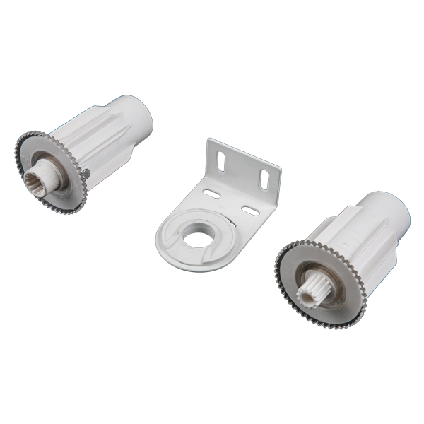 38MM CONNECT END CAP(WITH GEAR)-Roller Blinds Components