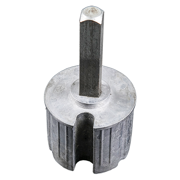 60 end plug aluminum-Outdoor Awning Components